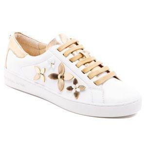 Michael Kors White Lola Sneaker
